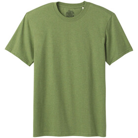 Prana Rundhals T-Shirt Herren matcha heather